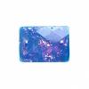 Resin Sew-on Dichroic Style 10pcs 15x21mm Rectangle Aqua